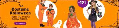 Costume de Halloween de la 3Pitici