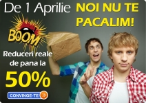 Oferte speciale de 1 aprilie!