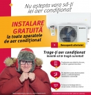Instalare gratuita la aparatele de aer conditionat – Altex