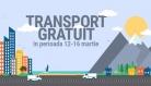 Transport gratuit la Cărturești până în 16 martie