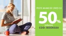 50% reducere la carti la Elefant plus 50% reducere la Libris