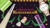 50% reducere la carti si Carnavalul Reducerilor – azi la Elefant