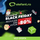 Pregătiri de Black Friday la Elefant