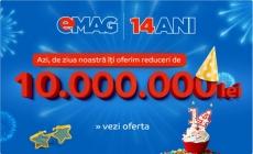 Reduceri de ziua Emag plus card cadou de 10%