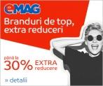 Emag – Reduceri de până la 30% la branduri de top – Emag