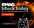 Black Friday 2017 la Emag: când, ce și cum