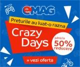 Crazy Days – pana la 50% reducere la Emag!