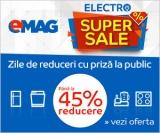 Electro Super Sale la Emag!