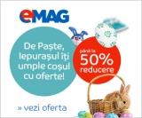 Reduceri de Paste la Emag de pana la 50%. Ce poti cumpara.