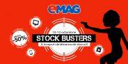 Stock Busters la Emag: 50.000 de produse cu reduceri de pana la 50%