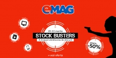 Stock Busters la Emag