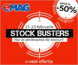A inceput Stock Busters la Emag!