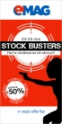 Pana la 50% reducere la Emag – Stock Busters