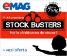 Stock Busters la Emag cu reduceri de pana la 75%