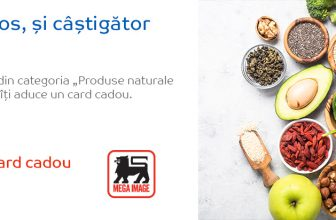 20 lei card cadou la produsele naturale și sănătoase din Emag Supermarket!