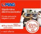 Săptămâna Electrocasnicelor la Emag și până la 250 lei buy back