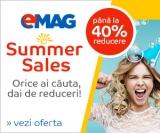 Summer Sales si alte reduceri la Emag