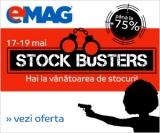 Stock Busters – pana la 75% reducere la Emag!