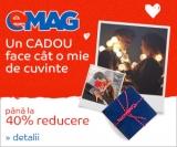 Valentine's Day la Emag cu reduceri de până la 40%