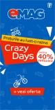 Emag – până la 40% reducere de Crazy Days!