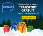 Transport gratuit la Eurogsm in acest weekend