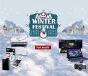 Winter Festival cu reduceri mari la Evomag