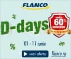 Reduceri de pana la 60% la Flanco – Discount Days