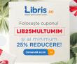 Libris – cupon pentru minim 25% reducere la toate cartile doar azi!