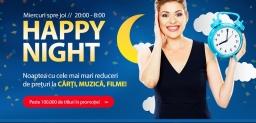 Happy Night la Libris – reduceri mari la peste 100.000 de titluri!