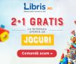 2+1 gratis la jocuri – Libris. Doar azi!