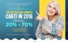 Top 100 cele mai vandute carti in 2016 au reduceri de minim 20% – Libris