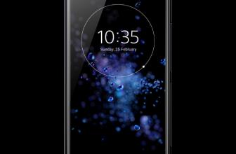 Sony Xperia XZ2 Liquid Black la precomandă la Orange vine cu căști Sony cadou