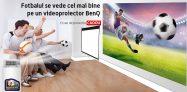 Videoproiector Benq cu ecran de proiectie cadou la PC Garage plus alte promotii