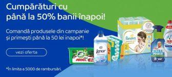 50% banii inapoi la Emag si alte magazine!