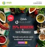 25% reducere la toate produsele Dacia Plant – Vegis